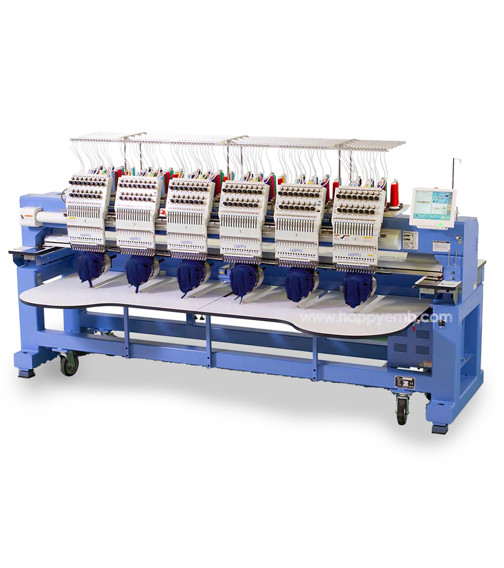 used multi needle embroidery machine for sale