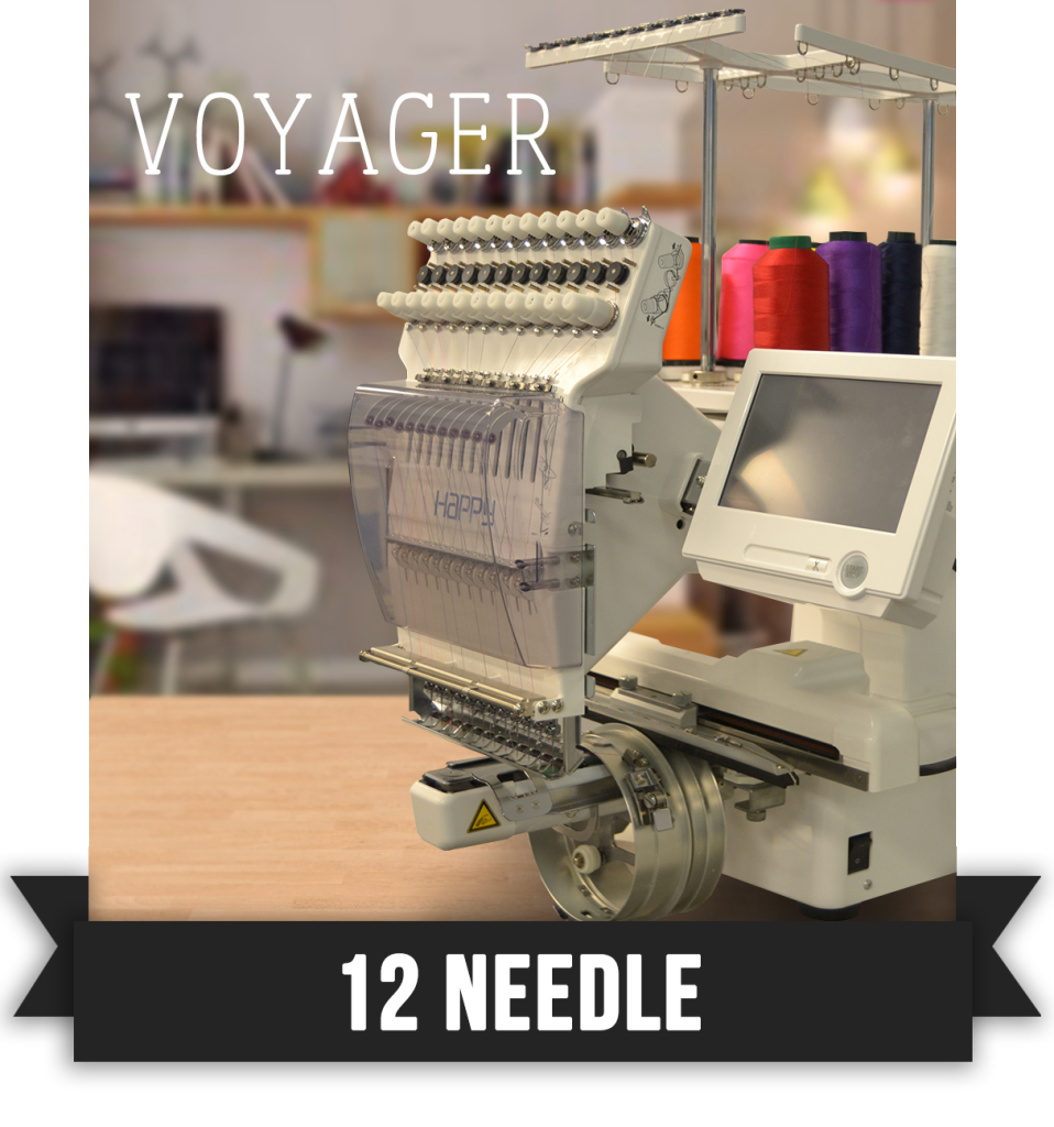 Voyager happy embroidery machine