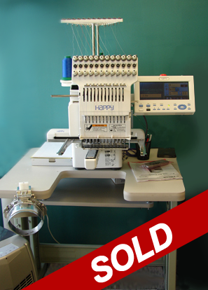 Used Embroidery Machines U2013 Happy Multi-needle Embroidery Machines