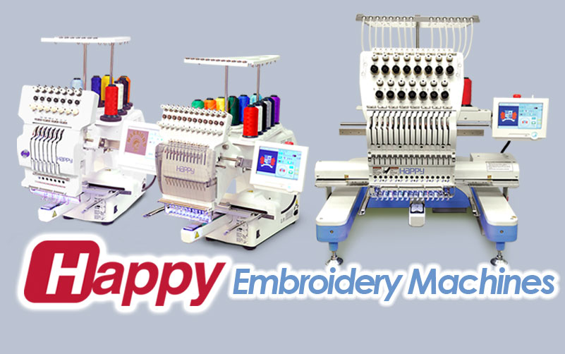 shop Happy embroidery machine models