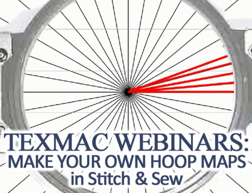 Oct. 2017 Webinar: Making your own Hoop Maps in Stitch & Sew