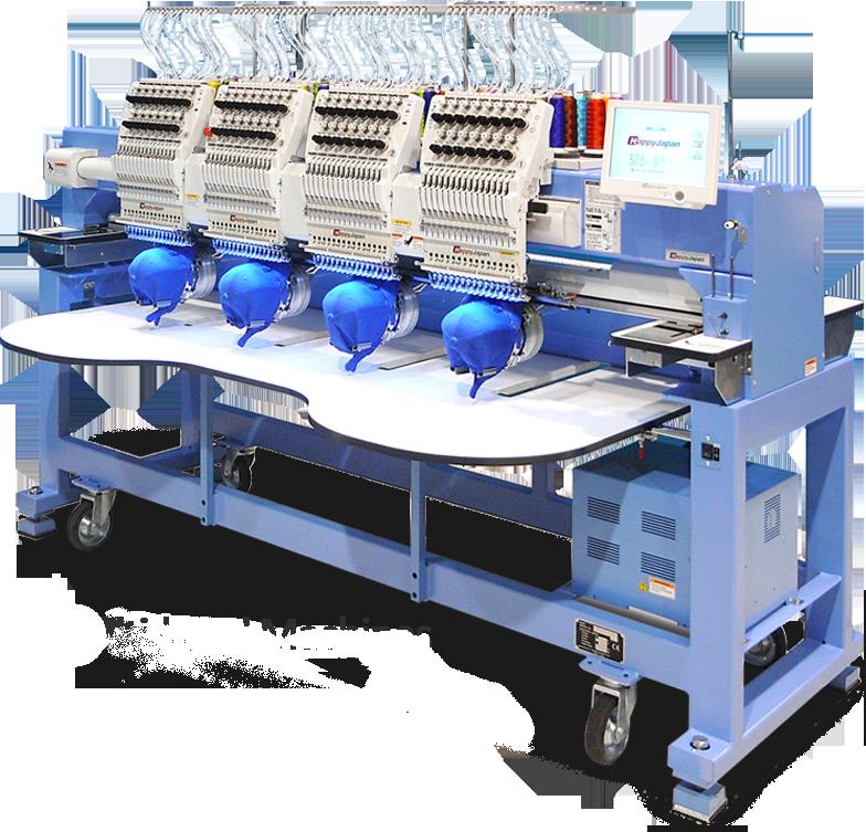 Happy multi-head embroidery machines