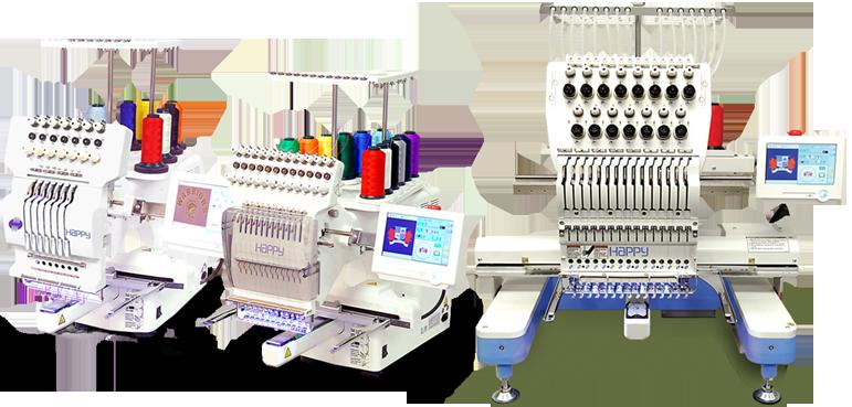 happy 6 embroidery machine