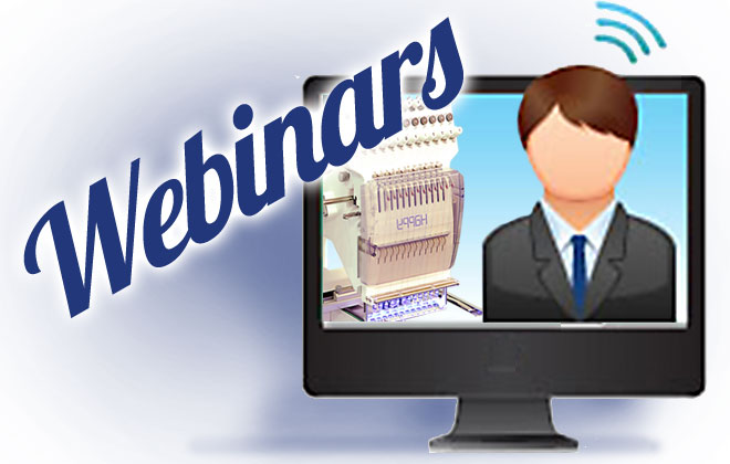 Webinar Wednesday! Embroidery with Happy HCH, HCS and HCD