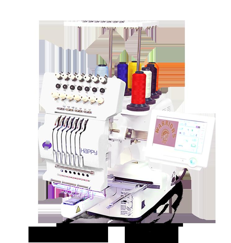 be2676e640185 Single Head Machines – Happy Multi-needle Embroidery Machines