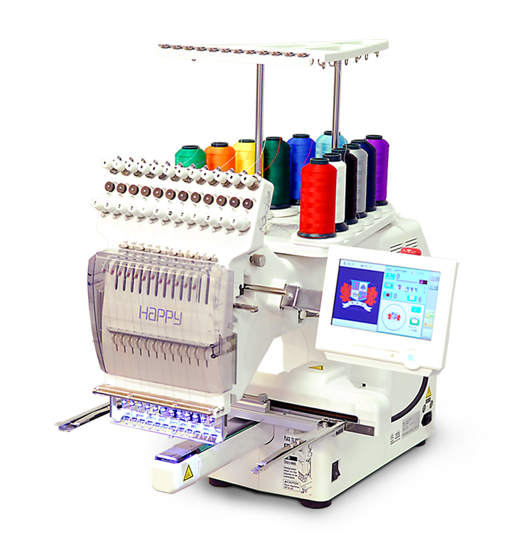 Single Head Machines U2013 Happy Multi-needle Embroidery Machines