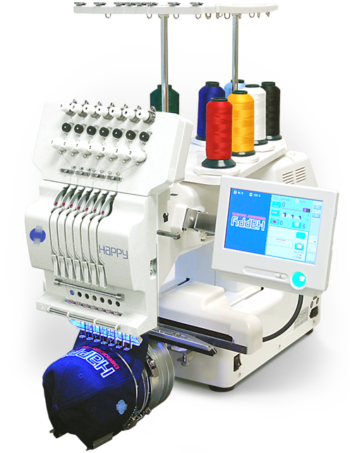 Happy HCH-701 Journey 1-head embroidery machine