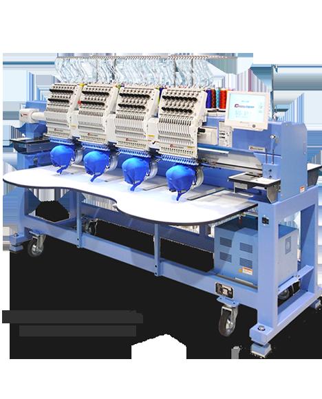 Happy multi head embroidery machines