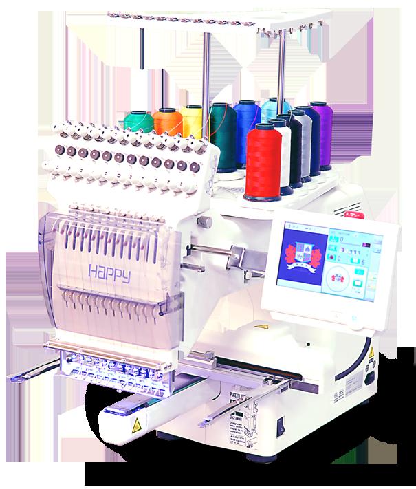 61819c813f4e9 Voyager 1-Head Embroidery Machine – Happy Multi-needle Embroidery ...