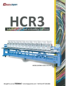 Link to HCR3 multi-head embroidery machine brochure