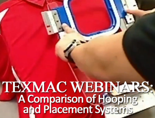 March 2018 Webinar: Comparing Embroidery Placement / Hooping Aids
