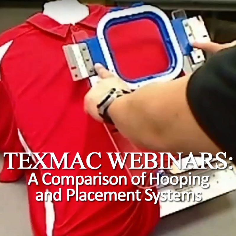 Happy embroidery machine webinar March 7 2018