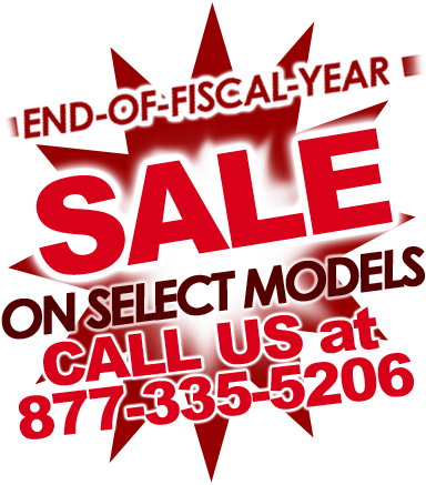 End of Fiscal Year Specials