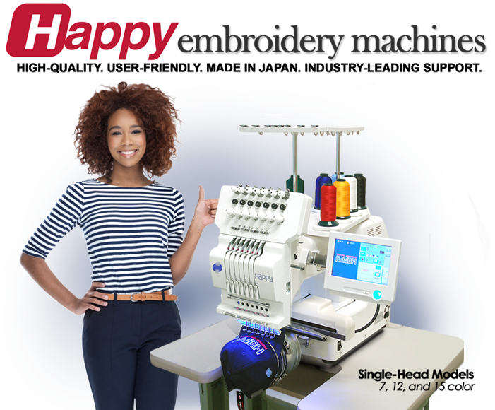 f60f3254dc31c Happy Multi-needle Embroidery Machines – TEXMAC Happy is the World s  leading distributor for HAPPY Embroidery Machines