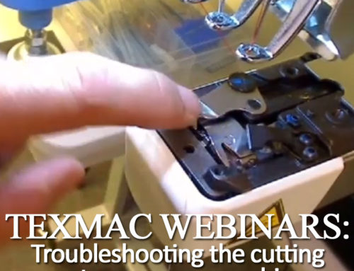 April 2019 Webinar: Troubleshooting the cut system