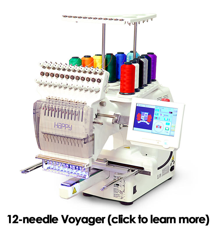 cd8f0a57f Single Head Machines – Happy Multi-needle Embroidery Machines