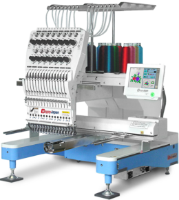Happy HCD3e commercial 1-head embroidery machine