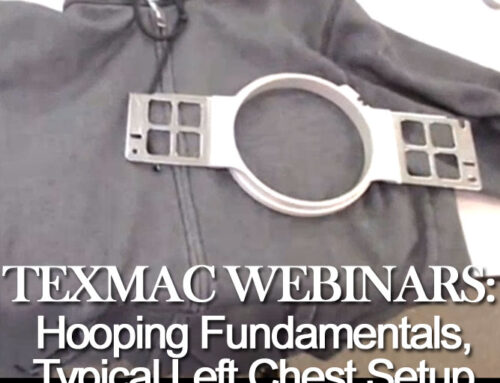 January 29, 2020 Webinar: Hooping Fundamentals on a Typical Left Chest Setup