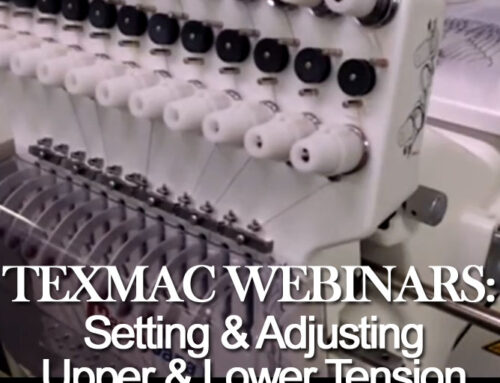 January 2020 Webinar: Setting & Adjusting Upper & Lower Tension