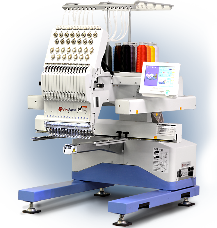 hcu commercial embroidery machine