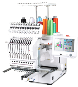 Happy HCS3 Voyager 12 needle embroidery machine