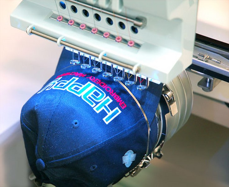 embroidery machine cap hoops